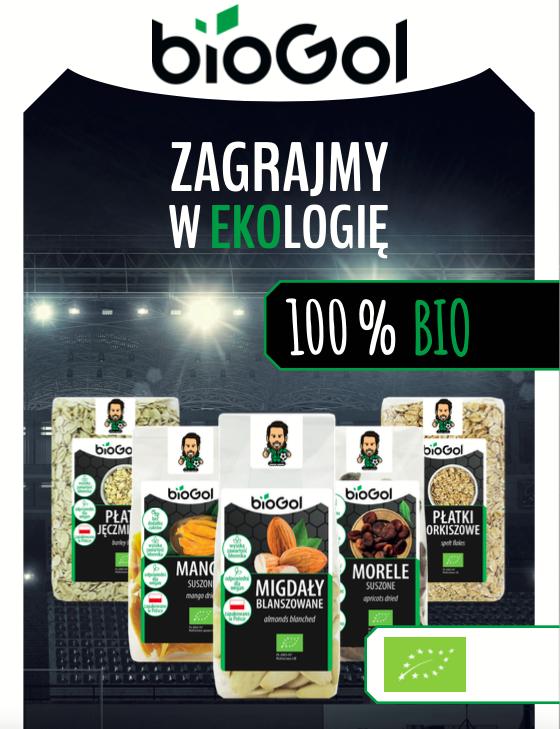 BioGol baner z produktami BIO