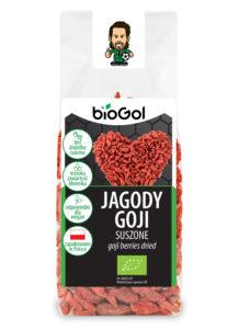 jagody goji suszone 100 g - BioGol 03.11.2020