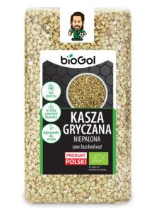 kasza gryczana niepalona 500 g - BioGol