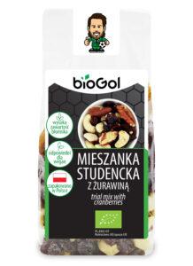 mieszanka studencka z żurawiną 150 g - BioGol