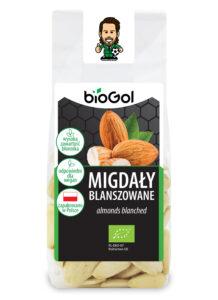 migdały blanszowane 100 g - BioGol 07.12.2020