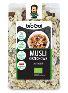 musli orzechowe 300 g - BioGol