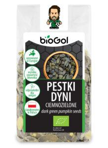 pestki dyni ciemnozielone 150 g - BioGol 14.12.2020
