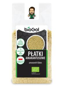 płatki amarantusowe 300 g - BioGol