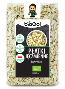płatki jęczmienne 300 g - BioGol
