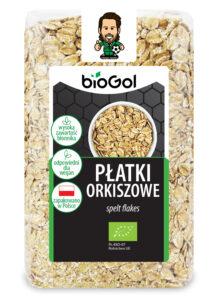 płatki orkiszowe 300 g - BioGol